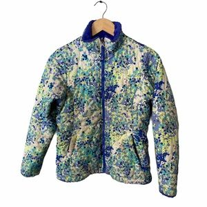 The North Face reversible floral fleece jacket 14